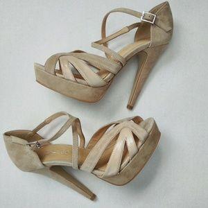 New aldo heels.